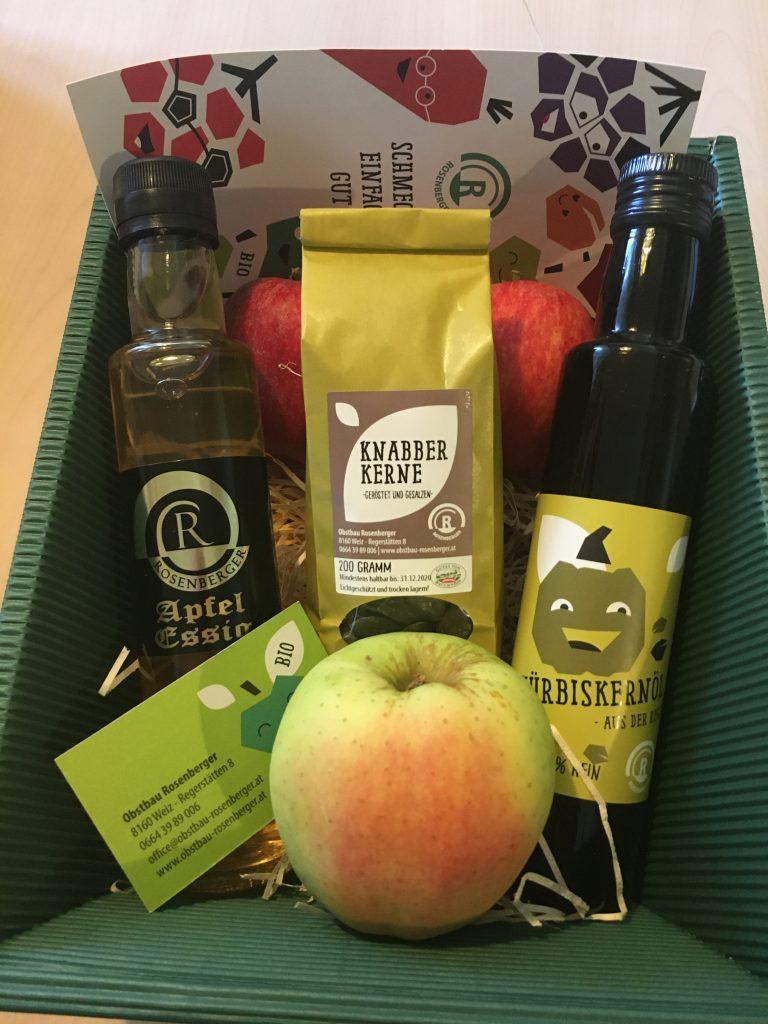 Obstbau Rosenberger Weihnachtsgeschenk