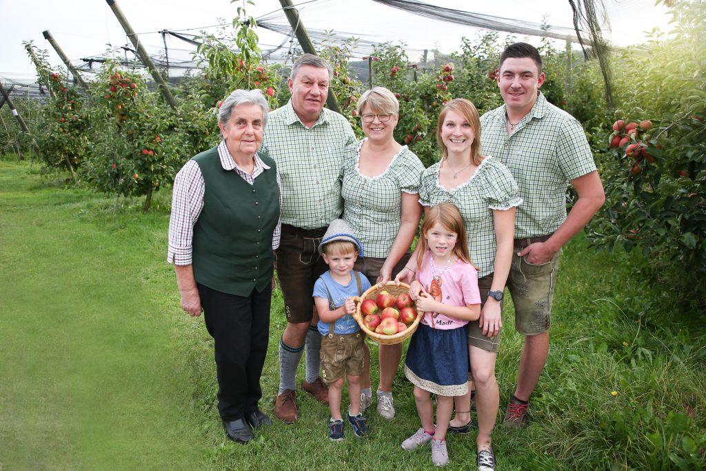 Obstbau Rosenberger Familie